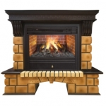 REAL FLAME  Stone Brick 26